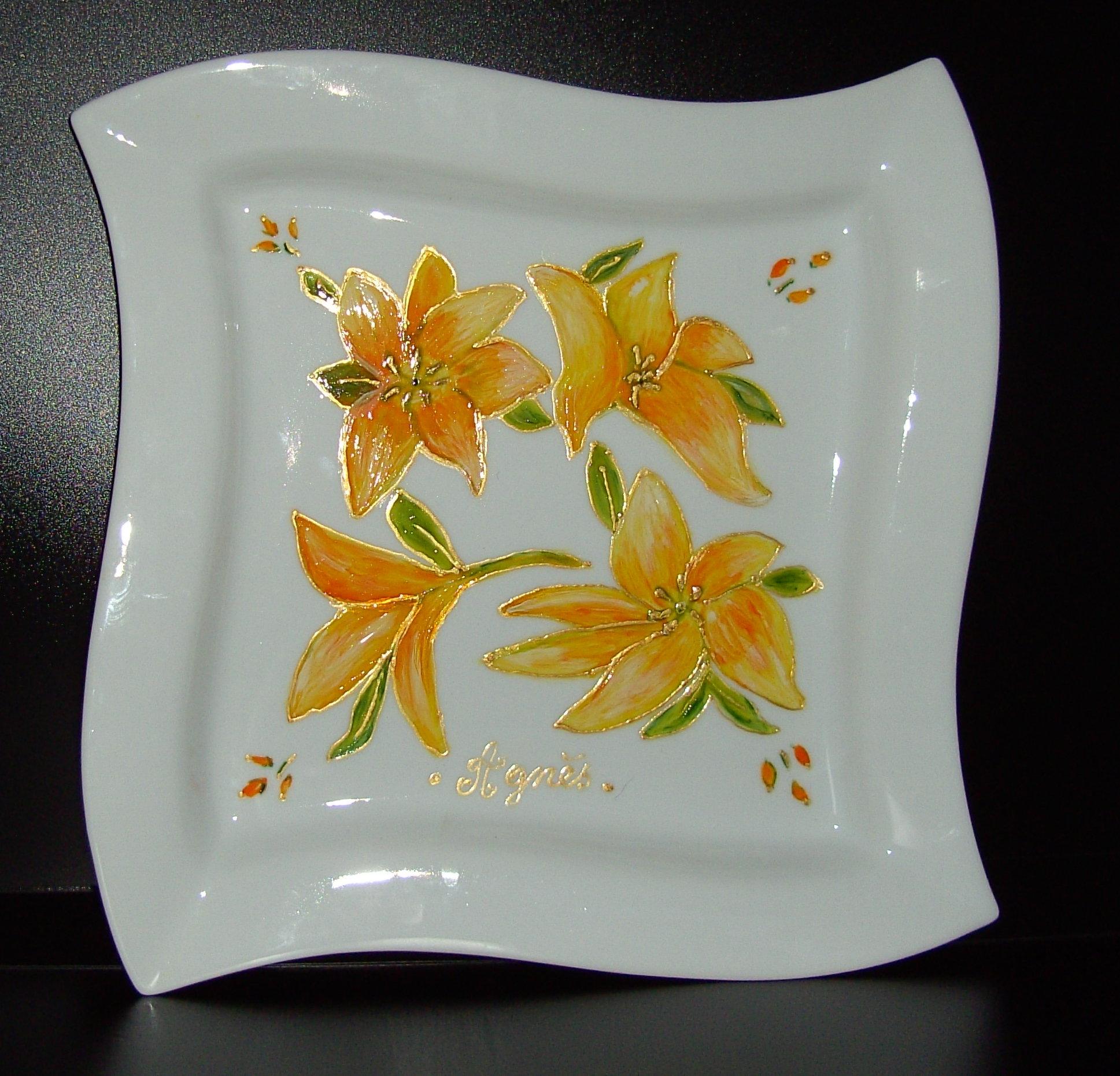 porcelaine-lys-jaunes